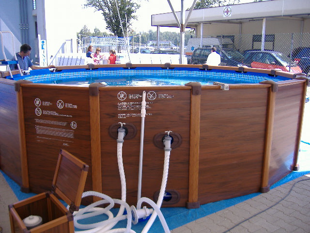 Piscine fuoriterra intex for Liner pour piscine intex sequoia
