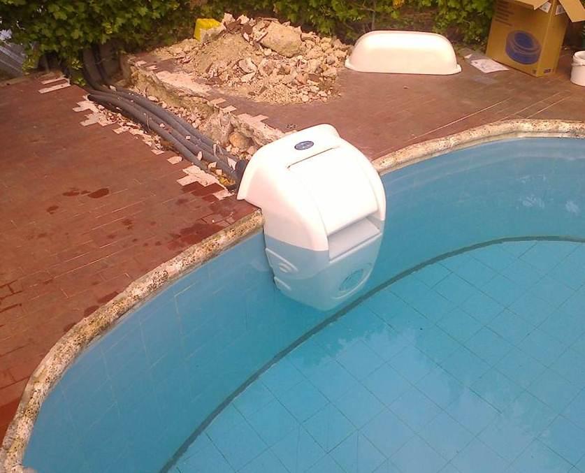 Impianto di filtrazione combo per piscine interrate - Accessori per piscine interrate ...
