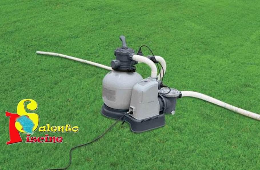 Pompa a sabbia da l h combinata con generatore di for Piscine fuori terra con pompa a sabbia