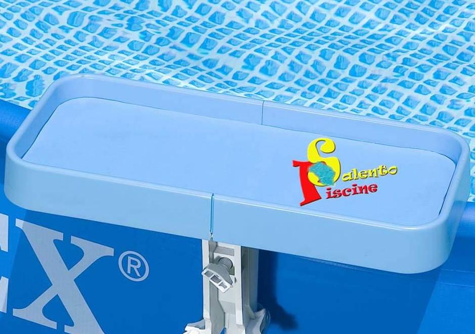 Vaschetta porta oggetti intex for Accessori per piscine intex