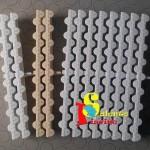 24,5x4x3,5 bianco  e sabbia il singolo 24,5x2x3,5