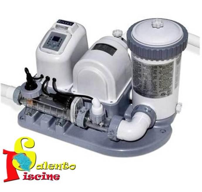 Generatore di cloro combo intex for Accessori per piscine intex