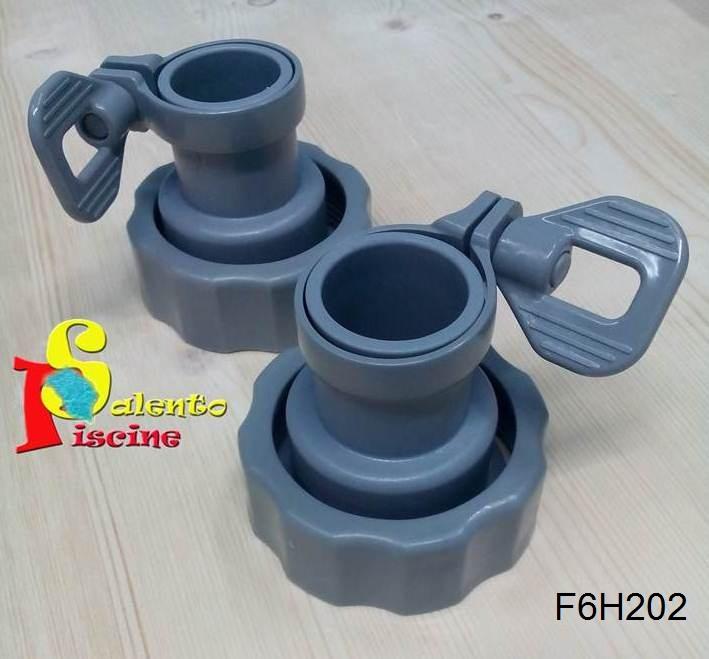 F6h202 set adattatori tubo x pompa a sabbia bestway for Pompa sabbia bestway