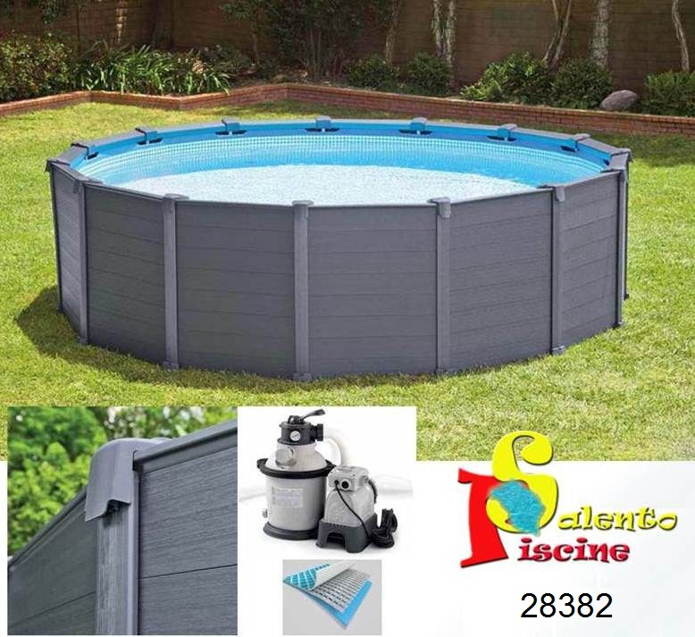 Graphite 478 124 cm intex for Piscine intex graphite