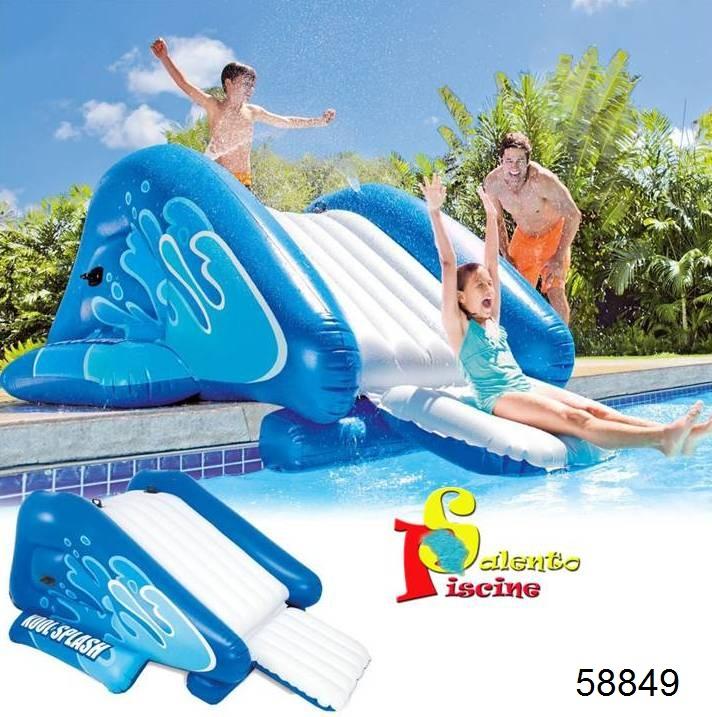Scivolo gonfiabile intex - Scivolo gonfiabile per piscina ...