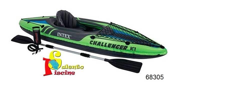 Canoa kayak challenger INTEX OFFERTISSIMA € 79,00!!!