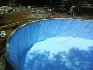 piscina montata