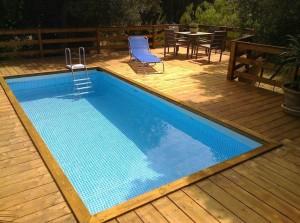 piscina rettangolare 549x274x132 cm